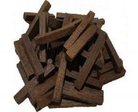 Палочки из кавказского скального дуба, сильный обжиг, 100 гр