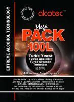 Спиртовые дрожжи Alcotec MegaPack 100L 360 г